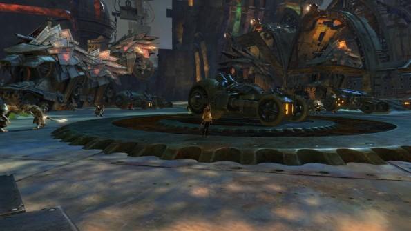 black citadel-war wagon prep deck